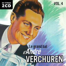 CD Le grand bal d'André Verchuren : Volume 4 - 2 CD - 50 Titres