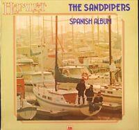 THE SANDPIPERS spanish album AMLP 8010 uk a&m hamlet reissue LP PS EX/EX