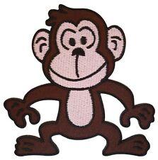 Patche brodé écusson Singe Monkey thermocollant patch NagaPatches