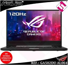 PORTATIL GAMING ASUS SEPHYRUS AMD RYZEN 7 3750H 16GB 512GB GTX1660TI TELETRABAJO
