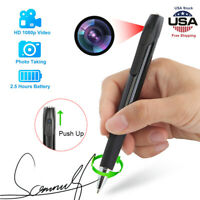 Portable Spy Hidden Camera Pen Recorder Video DVR 1080P HD Pocket Mini Camcorder