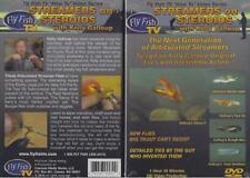 Streamers on Steroids New Flies Big Trout Can't Resist Kelly Galloup Dvd New