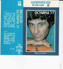 K7 AUDIO (TAPE)  GILBERT BECAUD  *OLYMPIA 77*