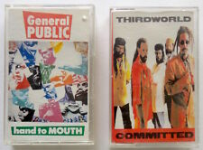 2 Reggae Cassettes: THIRD WORLD Committed + GENERAL PUBLIC Hand to Mouth, 1980s