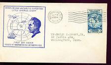 1933 FDC - Scott# 733 - Washington, DC Cancel - Beverly Hills Cachet   #2