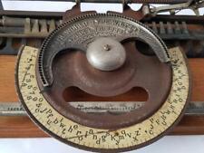Antigua maquina de escribir WORLD index rare TYPEWRITER 1893