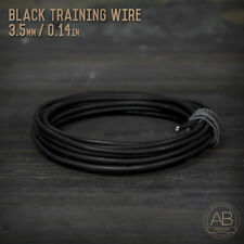 American Bonsai Black Aluminum Training Wire - 3.5mm - 100 grams - 14ft - 100g