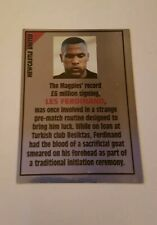 Panini Super Players 96 Sticker - #207 Les Ferdinand Newcastle United 1996 Foil