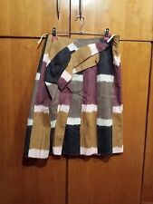 Marni Cotton Graphic Print Pleated 3D Design Skirt Made In Italy 100% Genuine 40