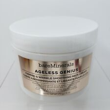 BareMinerals Ageless Genius Firming & Wrinkle Smoothing Neck Cream 6 Oz New