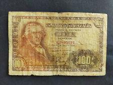 Espagne billet 100 pesetas 1948