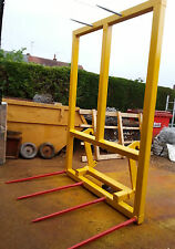 HEAVY DUTY BALE SPIKE FOR JCB TELEPORTER TOOL CARRIER/ TRACTOR FRONT LOADER NEW