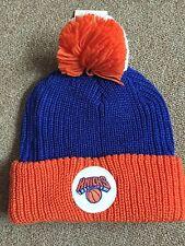 Mitchell And Ness New York Knicks Pom Beanie Very Nice!!