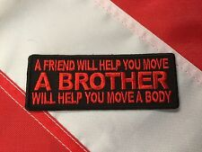 Morale Patch Brother will help you move a body novelty  GIFT you get 1 #575
