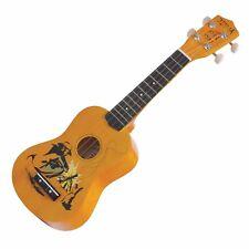 NEW Sanchez Soprano Aussie Bush Ukulele 4 String Beginner Kids Uke (Swagman)