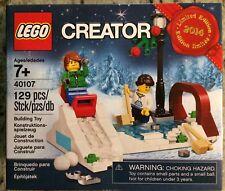 Lego Creator 40107 Winter Scene Sledding Skating 2014 Limited Edition New In Box