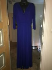 JOIN CLOTHING ROYAL BLUE MAXI DRESS SIZE XL NEW WITH TAGS