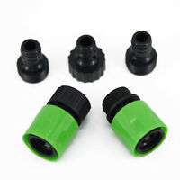 3/4 Garden Hose Quick Connect Water Hose Fit Plastic Female Male Connector