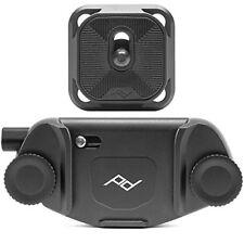 Peak Design Capture Clip V3 Black + Standard Kameraplatte für Gürtel schwarz