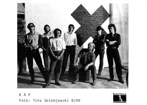 BAP - Promo Photo 1990 - Wolfgang Niedecken - X für 'e U - Da Capo - Pik Sibbe