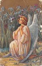 A Happy Easter, Peace, Beautiful Woman, Angel, Prayer, Flowers