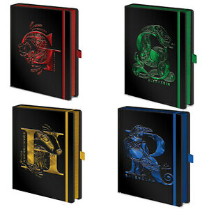 Official Harry Potter Foil Premium A5 Notebooks New UK Jotter Notepad Stationery