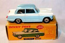 Dinky #189 Triumph Herald, Superb Condition in Original Box
