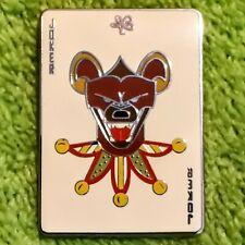 Busch Gardens Tampa Ambassador Card Set Series Joker Chaser Pin