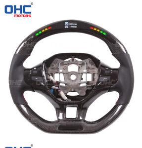 Real Carbon Fiber LED Performance Steering Wheel for Peugeot 206 307