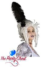 GHOST OF MARIE ANTOINETTE WIG UNHAPPILY EVER AFTER Halloween Fancy Dress Wig 744