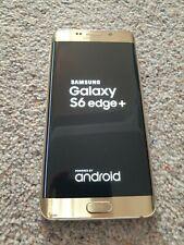 Samsung Galaxy S6 EDGE + 32GB Smartphone Sbloccato-ORO-con effetto craquelè sul retro