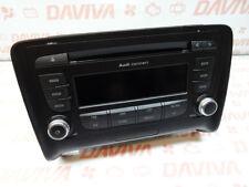 AUDI TT MK2 2007-2014 TTS   FM/AM RADIO CD PLAYER STEREO AUDIO HEAD  UNIT