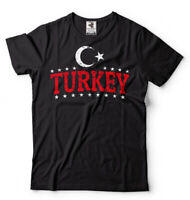 Turkey Pride Country Flag Patriotic T-shirt Turkish Heritage Flag Türkiye Shirt