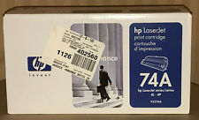New GENUINE HP 74A (92274A) Toner Cartridge for LaserJet 4L/4P - Black