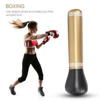 Inflatable Boxing Punching Bag Stand MMA Kick Martial Training With Air Pump