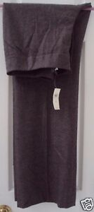 NEW! ANN TAYLOR 12 BROWN WOOL CASHMERE SPANDEX BOOTCUT LINED DRESS PANTS $128.00