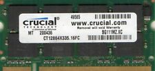 1GB IBM Thinkpad A31 A31P R40 T40 G40 PC2100/PC2700 DDR/DDR1 Laptop RAM Memory