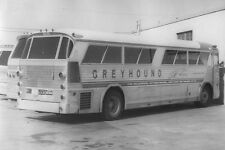 AA924 RP 1971 ALBUQUERQUE NM GREYHOUND BUS #2859  IN BUS PARKING LOT