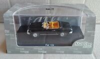 "DIE CAST "" FIAT 124 SPIDER BLACK "" STARLINE SCALA 1/43"