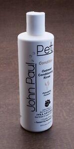 John Paul Pet Conditioner Oatmeal Conditioning Rinse 16 fl Oz.