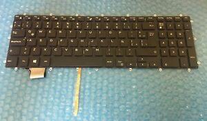 Genuine Dell G3 3579 3779 G5 5587 G7 7588 Spanish Teclado Backlit Keyboard 8Y88W