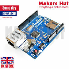 W5100 Network Ethernet Lan Shield Module with SD Card Reader Arduino UNO Mega UK