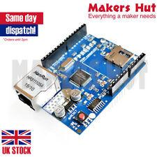 W5100 Network LAN Ethernet Shield modulo con SD card reader arduino uno mega UK