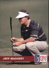1992 Pro Set Golf Card #35 Jeff Maggert