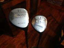 MacGregor TOURNEY TOUR DRIVER AND 3 WOOD S-FLEX SHAFTS , RIGHT HAND