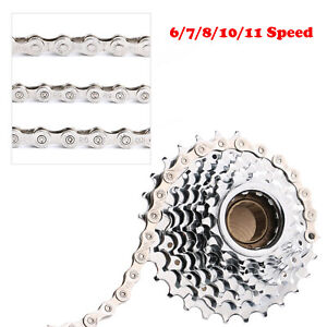 Bike Chain Folding Road Bicycle Chain Link Connector Solid Chains Repair