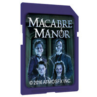 AtmosFearFX Macbre Manor Halloween Digital Decoration SD Card