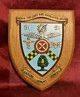 """Royal Air Force Cosford -""""Boy Entrants""""  Plaque, Crest Armorial Wall Hanging"""