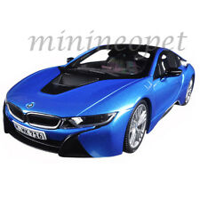 PARAGON 97084 BMW i8 1/18 DIECAST MODEL CAR PROTONIC BLUE