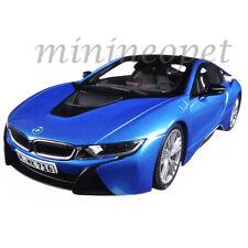 PARAGON 97083 BMW i8 1/18 DIECAST MODEL CAR PROTONIC BLUE